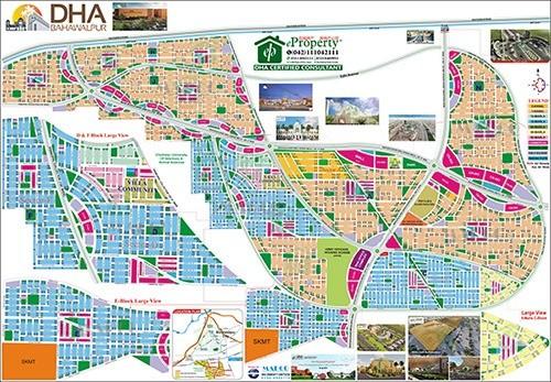 DHA Bahawalpur Map