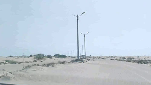 Golden Palms Gwadar Main Boulevard