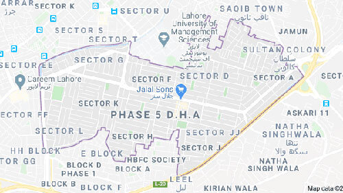 DHA Lahore Phase 5 Plots for Sale