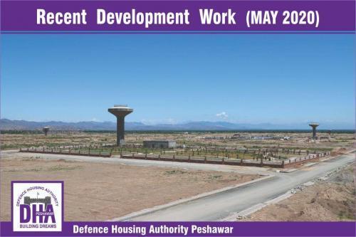 DHA Peshawar Development Work May 2020-2