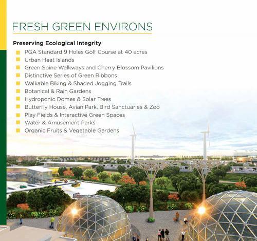 Mivida Pakistan Fresh Green Environs