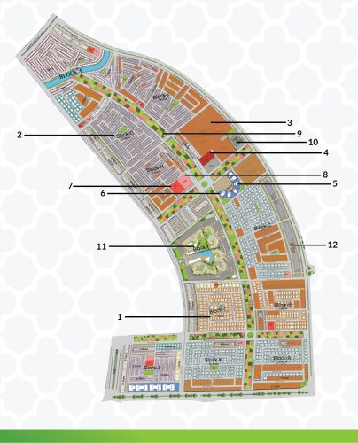 Capital Smart City Overseas Block