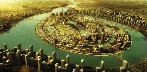 Ravi riverfront Aerial View