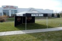 Harley Davidson Canopy & Branded Tent Program