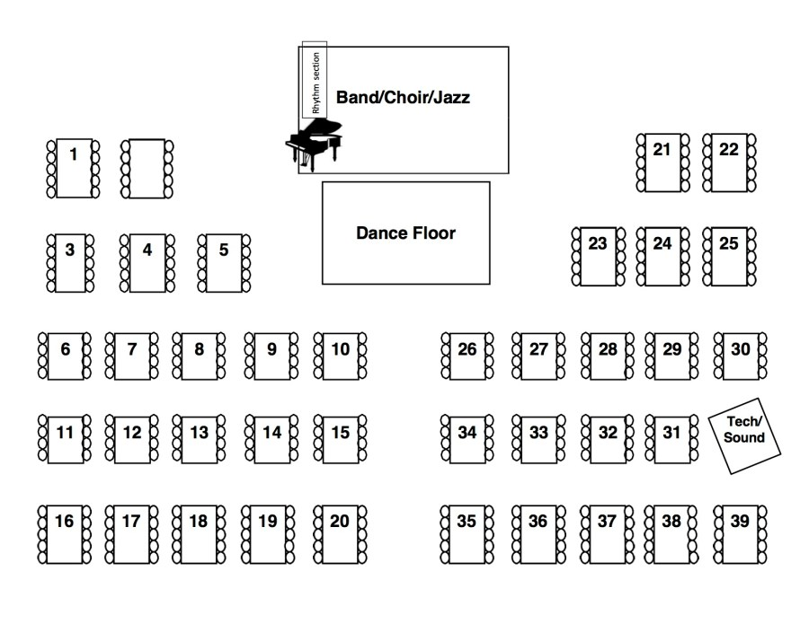 MLK Seating Plan