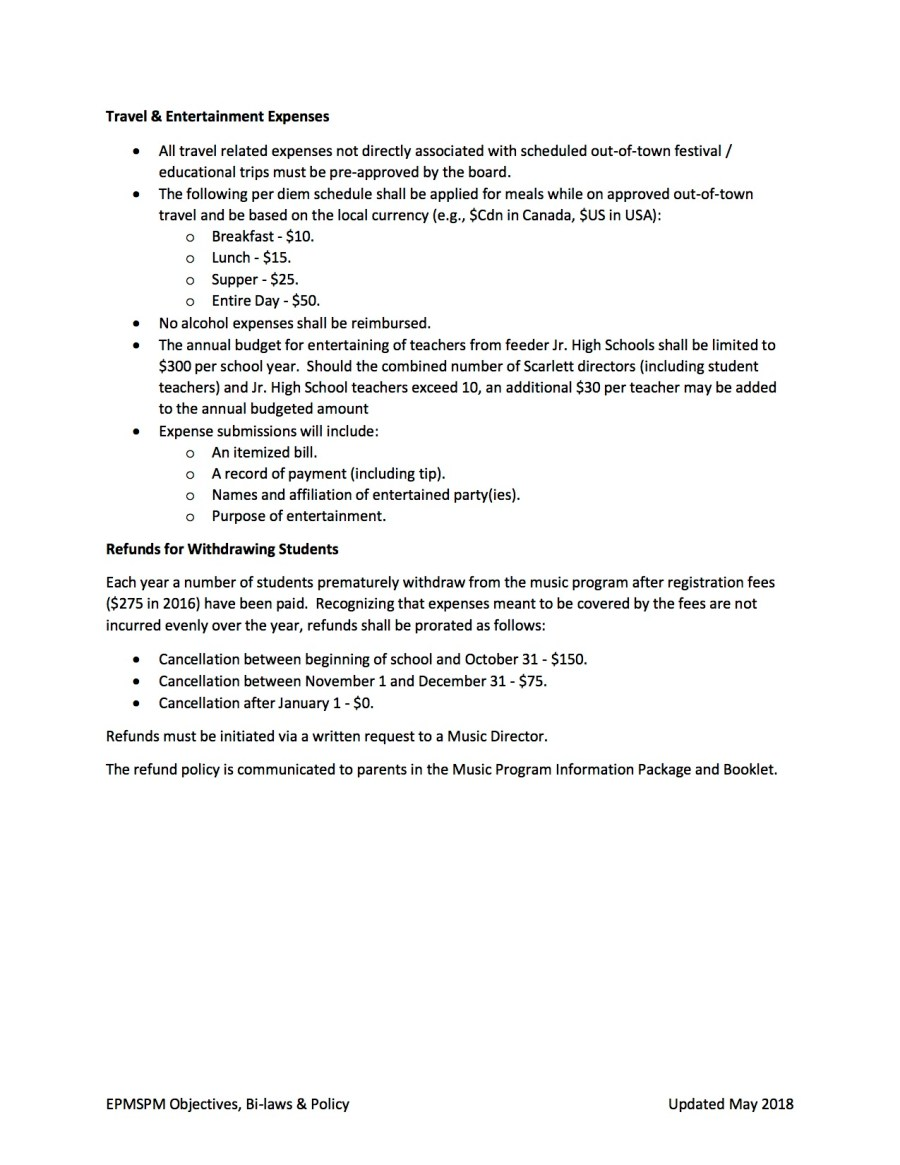 EPSMPA Policy Document - May 2018 page 6