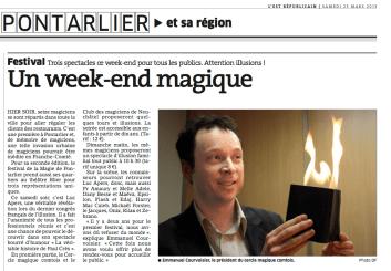 Est Républicain - 23 mars 2013