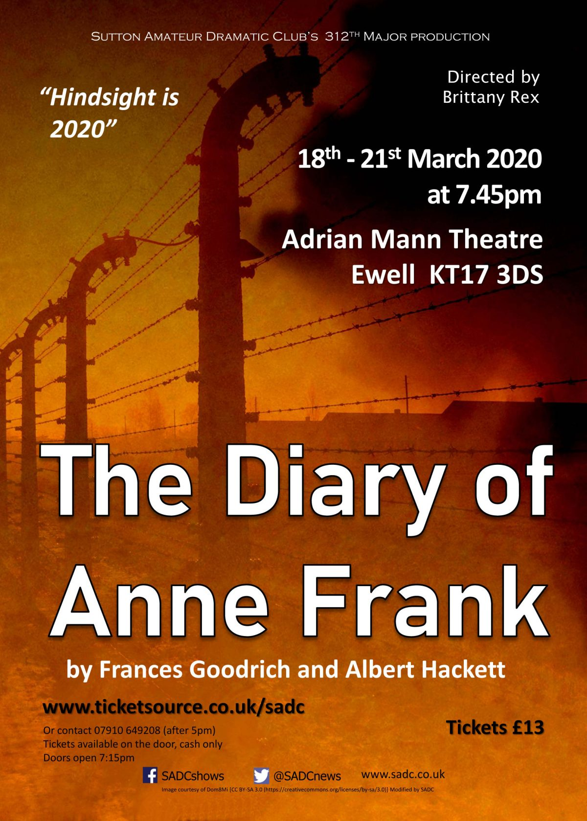 The Diary Of Anne Frank A Play By Frances Goodrich And
