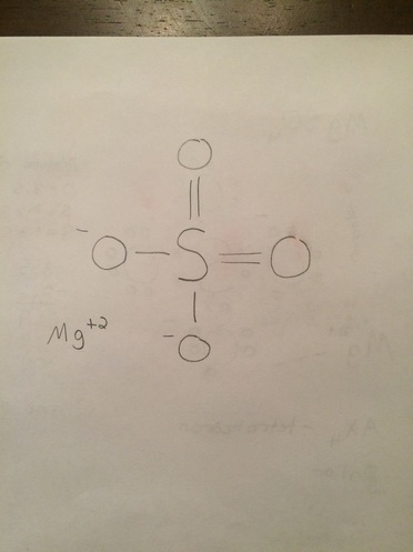 What Is The Lewis Dot Structure For Magnesium : lewis, structure, magnesium, Lewis, Structure, Epsom, Salts