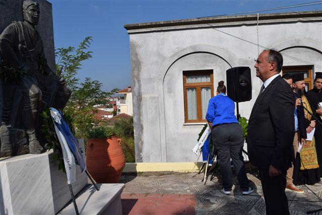 Ο υφυπουργός Μακεδονίας-Θράκης για την «Ημέρα του Μακεδονικού Αγώνα»