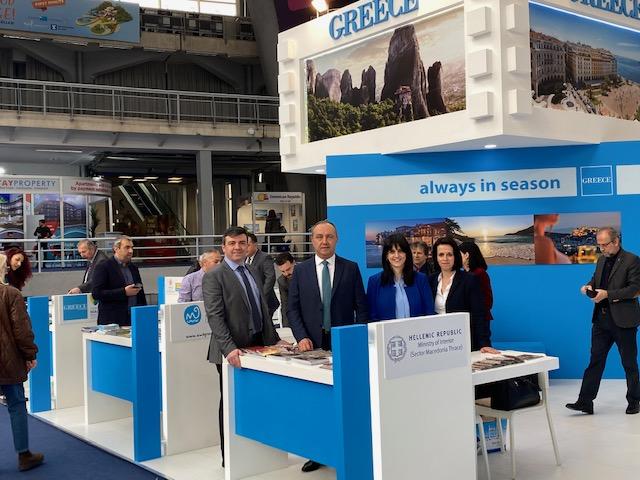Στη Διεθνή Έκθεση Τουρισμού στο Βελιγράδι ο Θ. Καράογλου για την προβολή Μακεδονίας και Θράκης:Περιοχή μεγάλων τουριστικών δυνατοτήτων