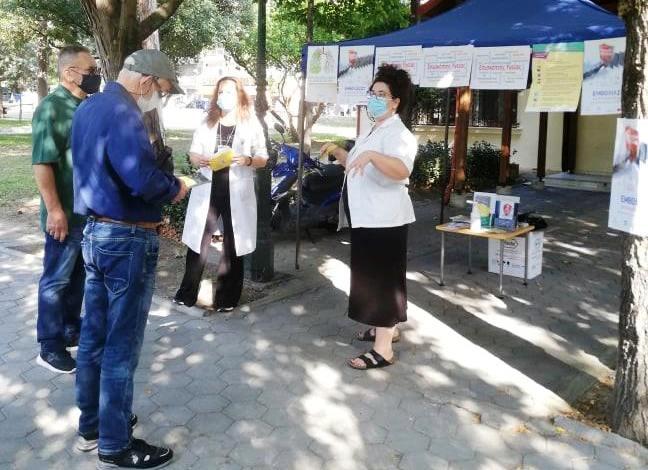 Κατερίνη – Επισκέπτριες Υγείας ενημερώνουν το κοινό για τα μέτρα πρόληψης των λοιμώξεων