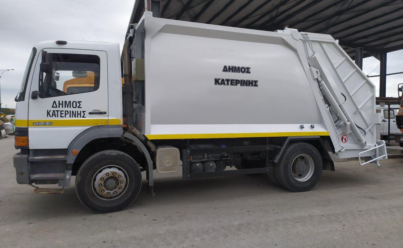 Υπηρεσία Καθαριότητας – Σε λειτουργία ακόμη δύο απορριμματοφόρα