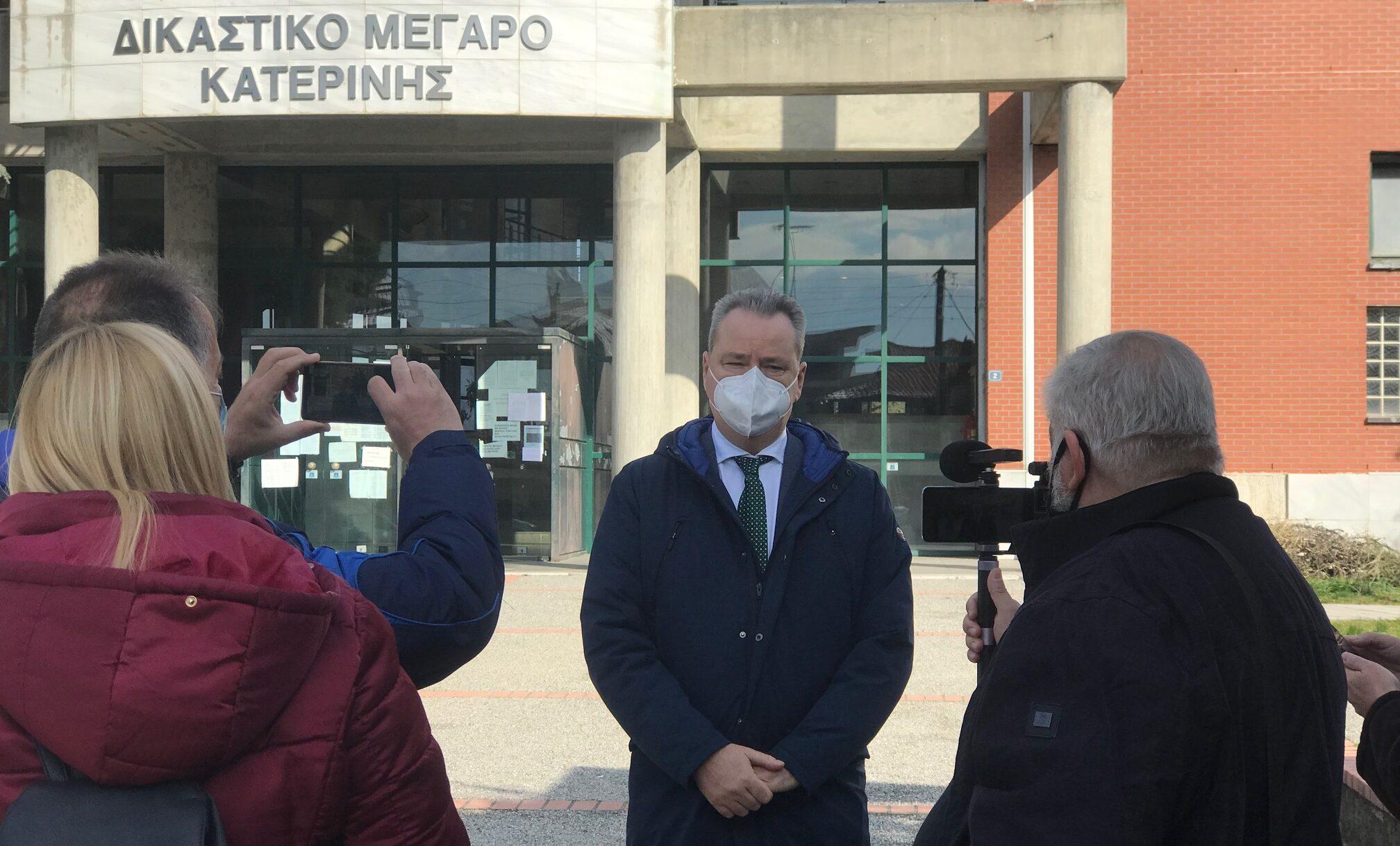"""Κατερίνη - Την παρέμβαση του Εισαγγελέα ζήτησε ο Κ. Κουκοδήμος για τα """"περί κακοδιαχείρισης"""""""