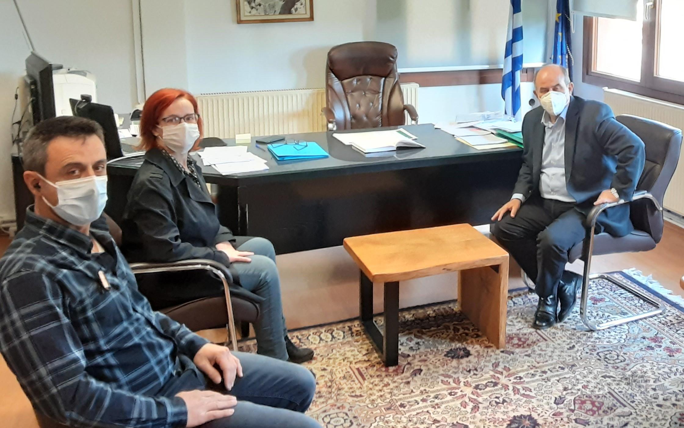 Με «πλούσια ατζέντα» η συνάντηση της Μπ. Σκούφα στη ΔΕΥΑΔΔΟΛ και στο δημαρχείο Δίου-Ολύμπου