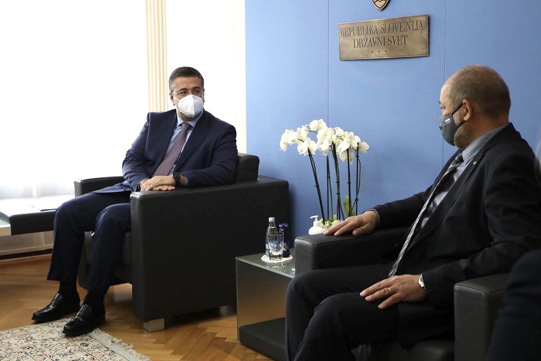 Επίσημη επίσκεψη του Προέδρου της Ευρωπαϊκής Επιτροπής των Περιφερειών, Περιφερειάρχη Κεντρικής Μακεδονίας Απόστολου Τζιτζικώστα στη Σλοβενία
