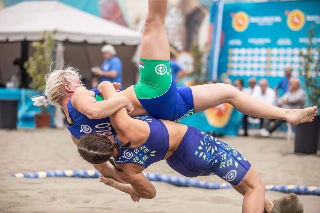 Στιγμιότυπα από το Παγκόσμιο & Πανευρωπαϊκό Πρωτάθλημα Πάλης στην Άμμο