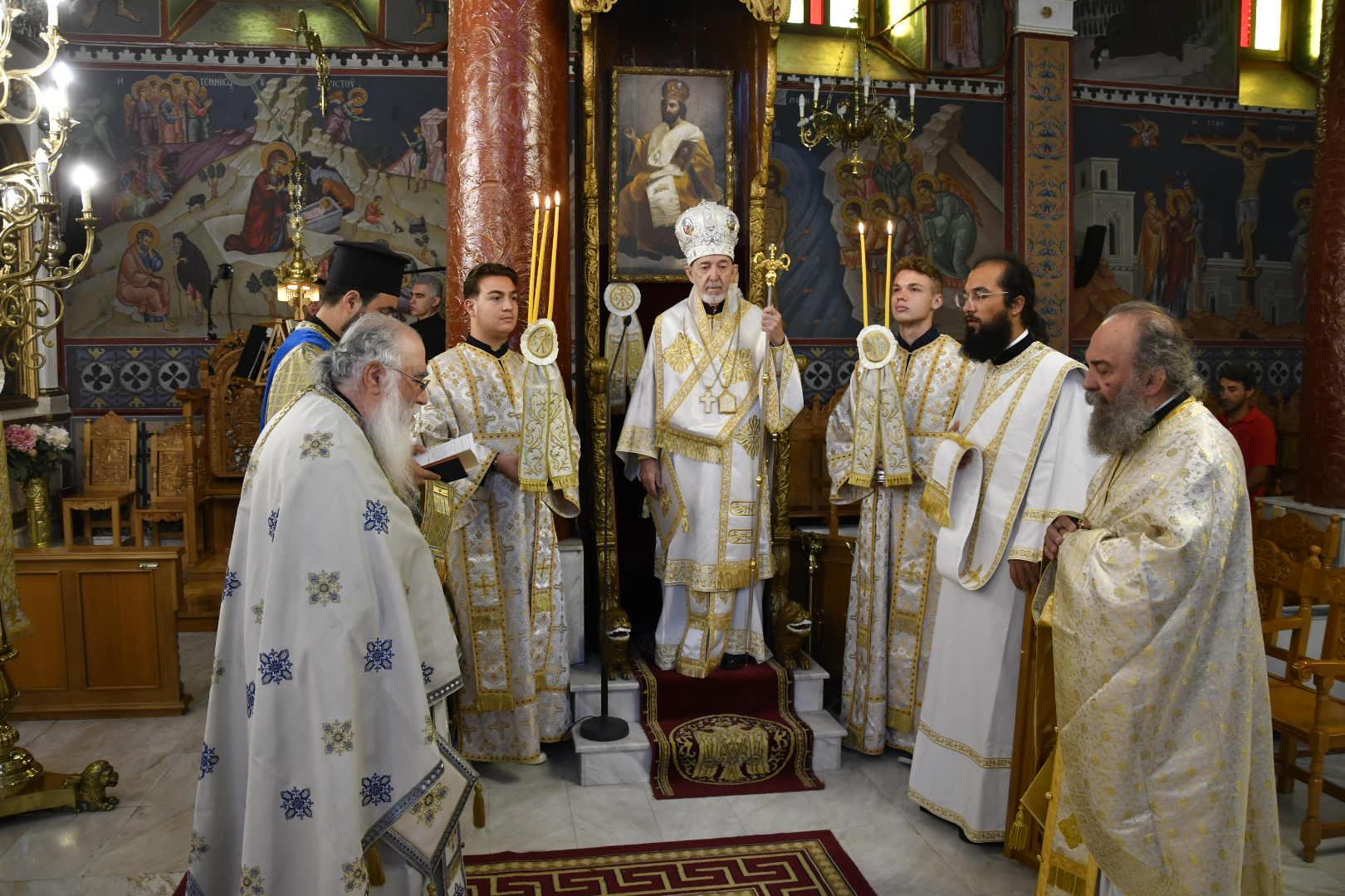 Αρχιερατικό Συλλείτουργο στο Λιτόχωρο | Εορτάστηκε η Μετάσταση του Αγίου Αποστόλου και Ευαγγελιστού Ιωάννου Θεολόγου