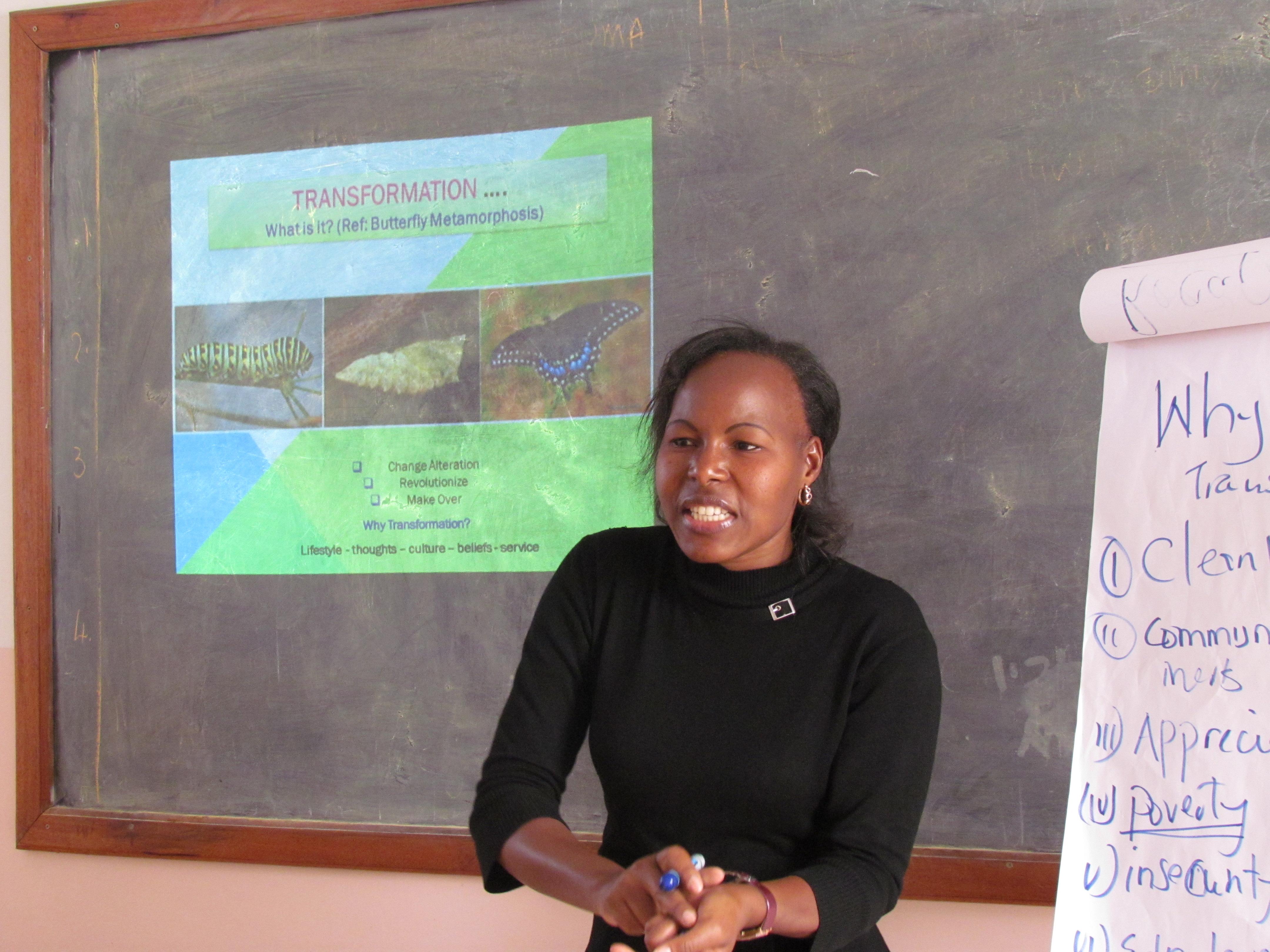 In A Mentors Shoe – Rose Kainda