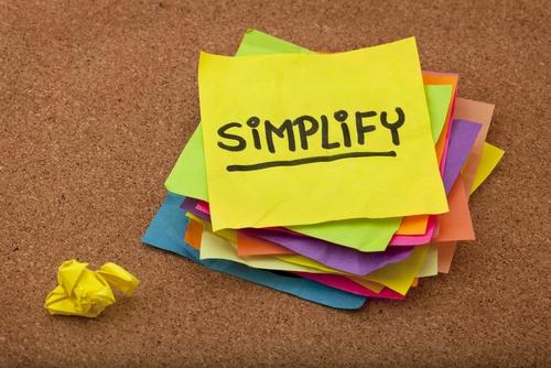 Simplify post-it