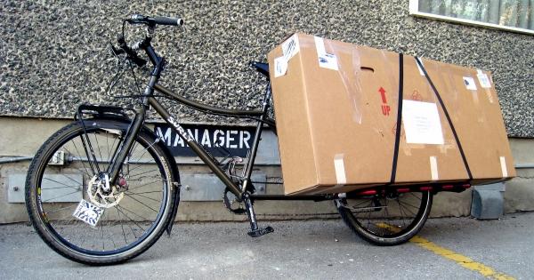 Bikes instead of lorries