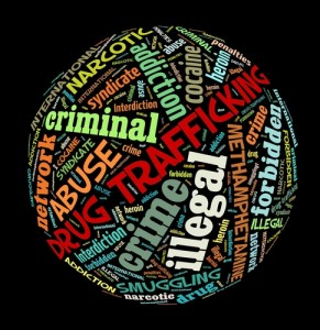 Drug trafficing Wordcloud
