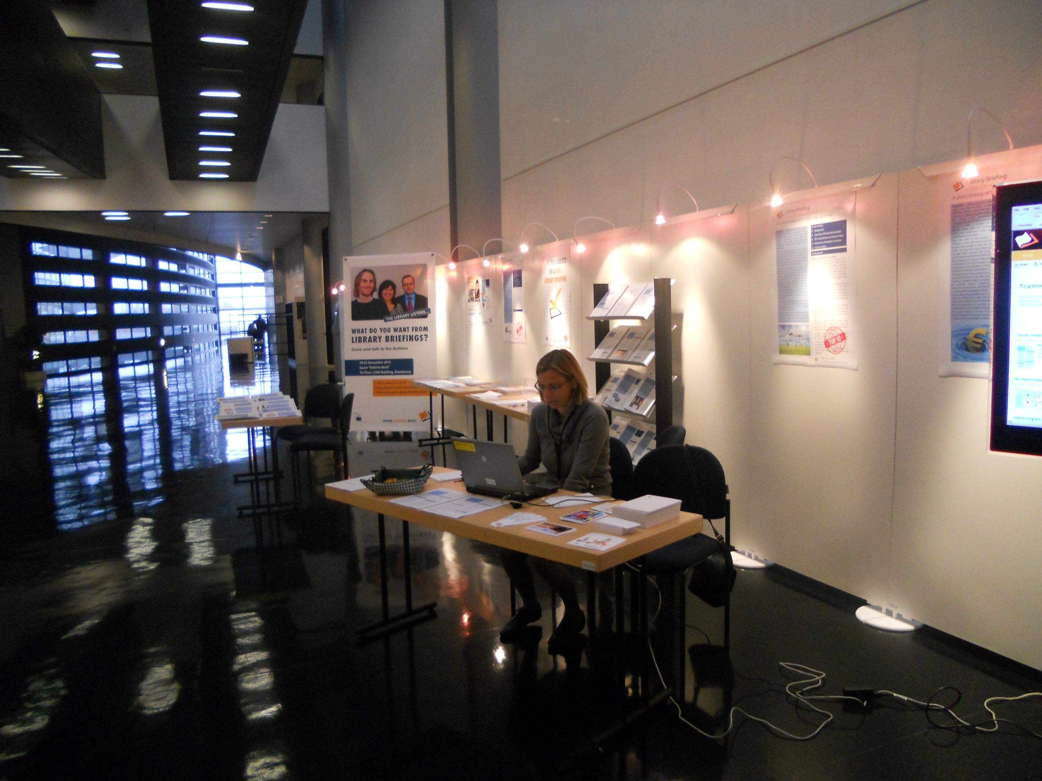 Library stand in Strasbourg 4
