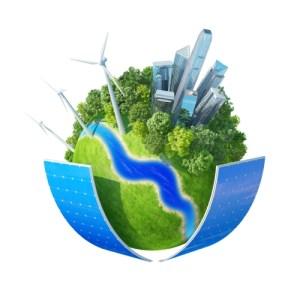 Ecology planet concept