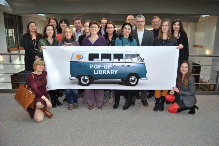 Library Pop-up team