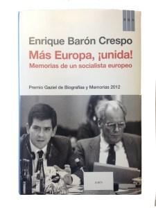Cover page of Baron Crespo's book