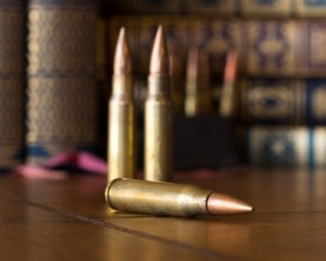 Bullets on the table