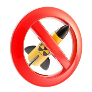 Nuclear power and radiation forbidden