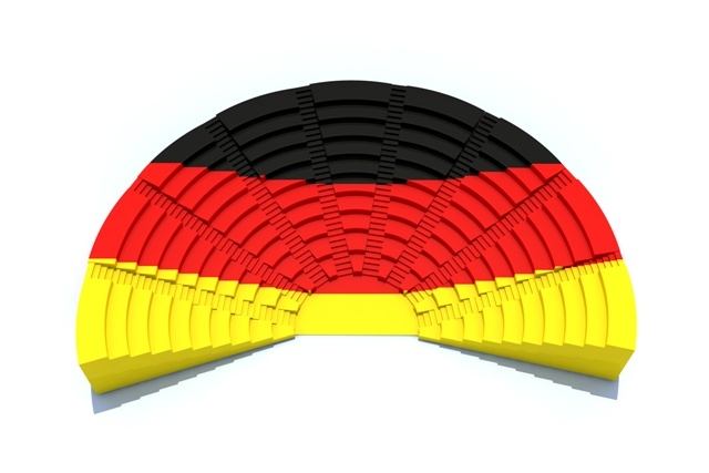 How many seats in the Bundestag after the elections?