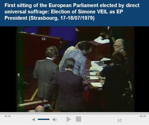 Video: Simone Veil election
