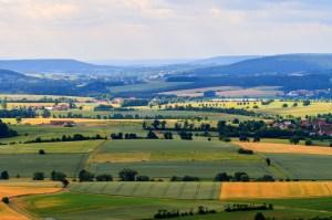 Franconian Summer Landscape