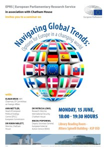 Europe's place in a changing world: EPRS-Chatham House seminar