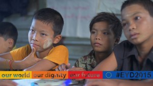 EYD2015 – the EU focus on development aid