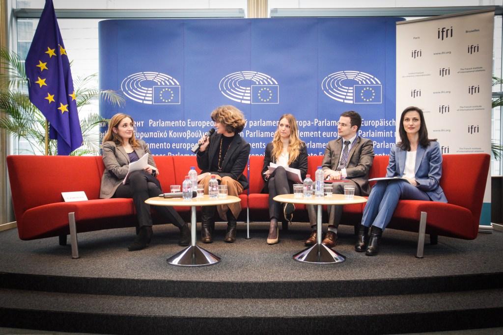 """La conférence """"les effets du changement climatique sur les migrations et les conflits en Méditerranée"""""""