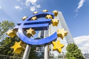 euro sign in Frankfurt am Main