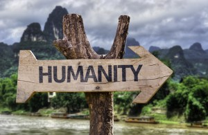 Humanity sign