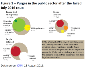 Purges in the public sector after the failed July 2016 coup (Turkey)