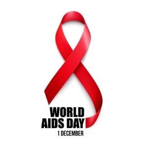 World Aids Day ribbon