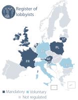 Register of lobbyists