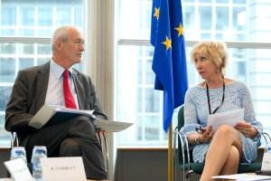 MEP Richard CORBETT and Joséphine Rebecca VANDEN BROUCKE