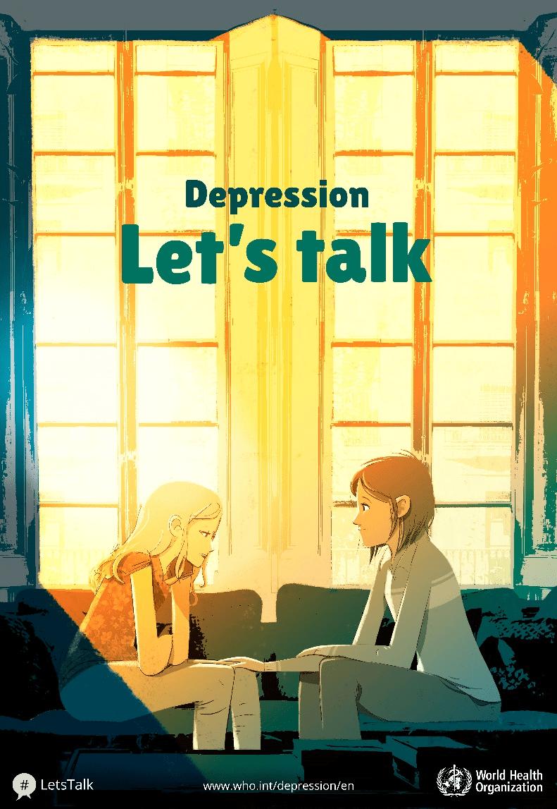 World Health Day 2017 – 'Depression: Let's talk'
