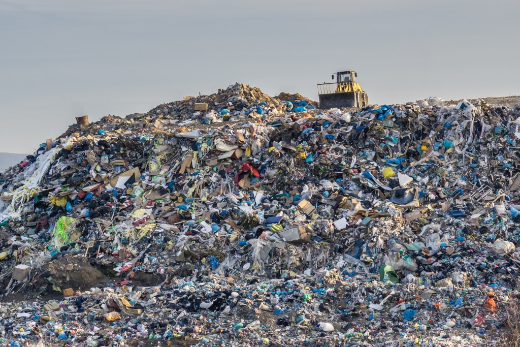 How is the EU tackling waste management