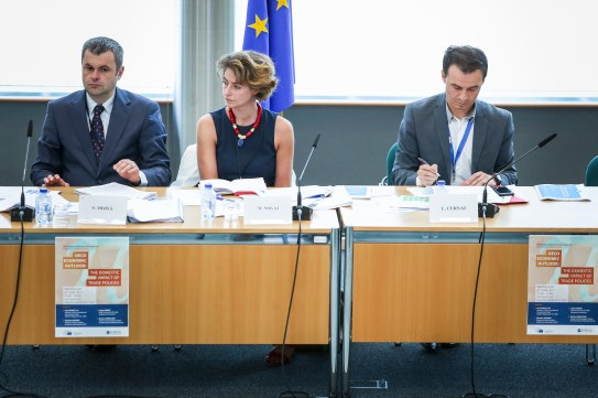 EPRS event: ' OECD Economic Outlook: The domestic impact of trade policies '