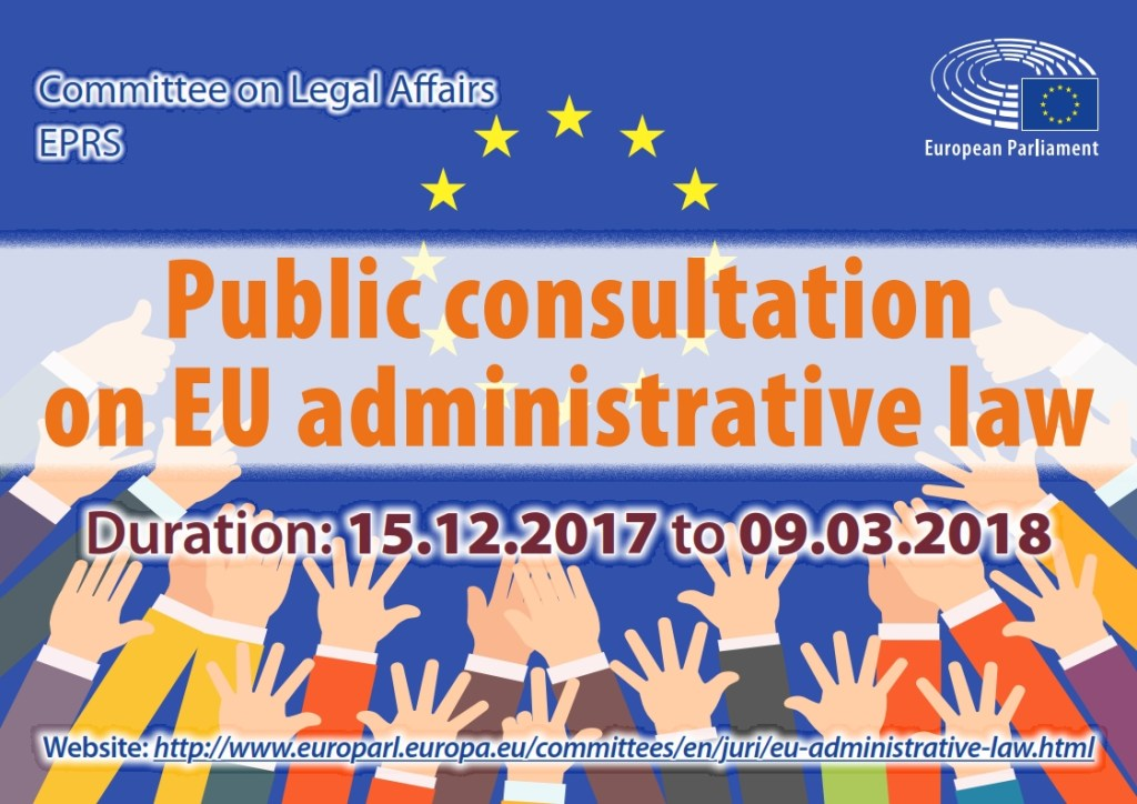Have your say on an EU administrative law