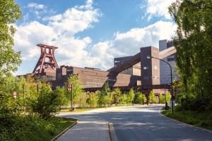 Gelände der Zeche Zollverein Essen