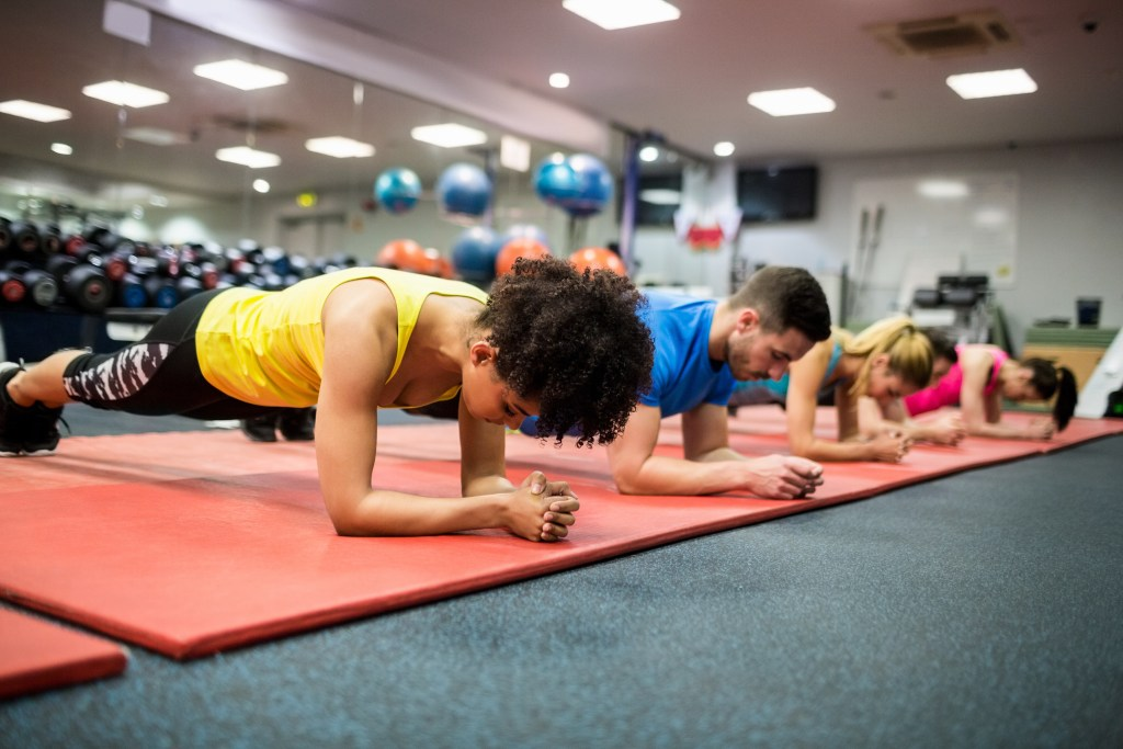People who exercise to keep fit [What Europe does for you]